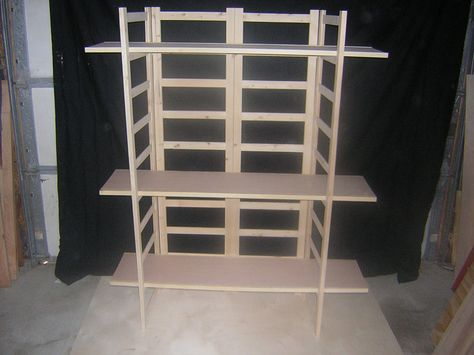 Craft Fair Display | HDX, 4 Shelf 14 in