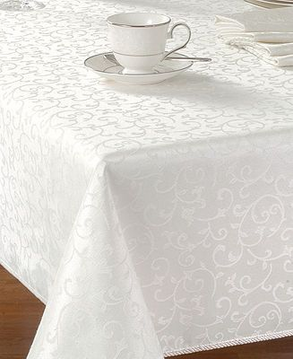 Opal Innocence 60 X 140 Oblong Tablecloth Wedding Gifts Oblong