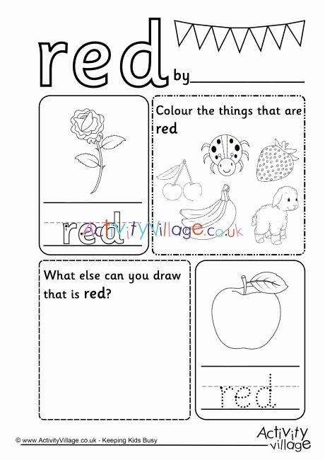 Worksheet For Kindergarten Colours In 2020 Color Worksheets Color Worksheets For Preschool Kindergarten Worksheets Preschool learning worksheets uk