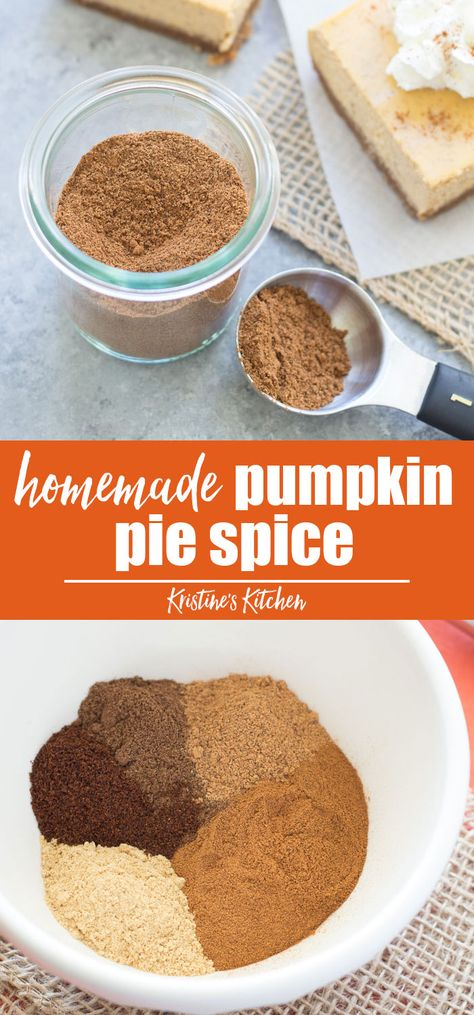 This Homemade Pumpkin Pie Spice Is Quick And Easy To Make In Just