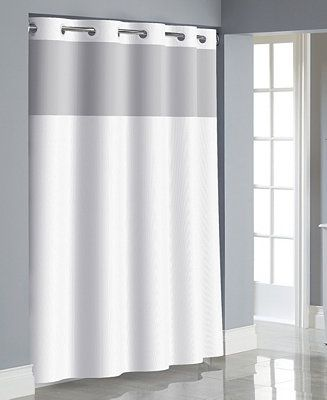 Hookless Dobby Texture 3 In 1 Shower Curtain Reviews Shower
