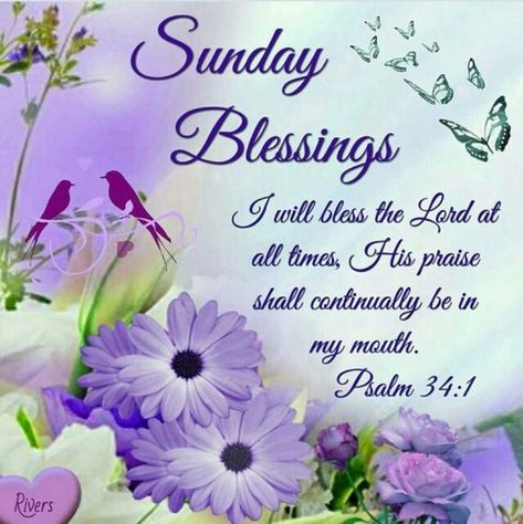 List of sunday morning blessings beautiful pictures and ...