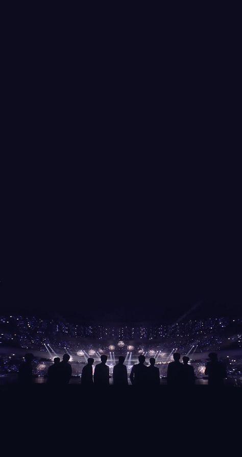 Wanna One Iphone 7 Lockscreen Wallpaper Black Aesthetic Wallpaper Kpop Wallpaper Aesthetic Iphone Wallpaper