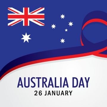 Happy Australia Day Vector With Ribbon Holiday Background Illustration 26 Abstract Australia Png And Vector With Transparent Background For Free Download Australia Day Happy Australia Day Holiday Illustrations