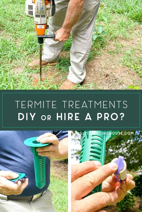 Such a good comparison! When dealing with termites, should you DIY or hire a pro? Lots of good points brought up in this post and I learned so much! #termites #pestcontrol #sentricon #termiteinspection #professionalinstall #bugs #sentricon #sentriconsystem #review