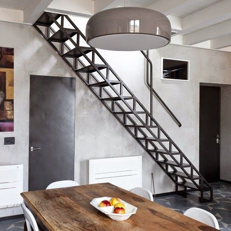 Exterior Metal Stairs Residential   Google Search | House | Pinterest | Metal  Stairs, Flexibility And Stairs
