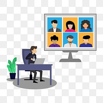 Online Virtual Remote Meetings Online Icons Remote Icons Illustration Png And Vector With Transparent Background For Free Download In 2021 Online Icon Colorful Backgrounds Vector Technology