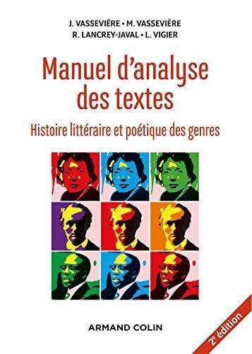Telecharger Manuel D Analyse De Texte 2e Ed Histoire Litteraire Et Poetique Genre Pdf Par Jacque Va Telechargement Dissertation