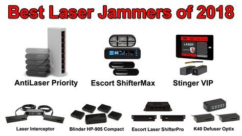 Best Laser Jammers of 2018 - YouTube   Cool Shit   Radar