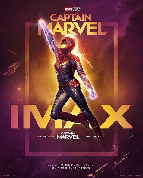 "Captain Marvel Poster 48x32/"" 40x27/"" 2019 Brie Larson Movie Film Art Print Silk"