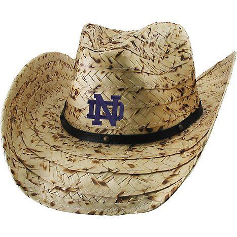 Product  University of Notre Dame Women s Wrangler Straw Hat ... b8f08d0750d