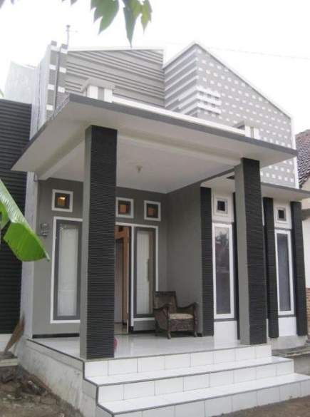 Gambar Teras Rumah Klasik : gambar, teras, rumah, klasik, Ideas, House, Entrance, Exterior, Decoration, Rumah, Minimalis,, Modern,, Desain