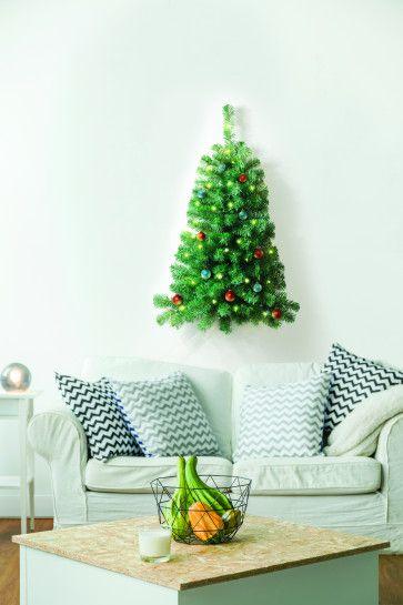 kerstboom met verlichting 2020 Ideaworks Halve Muur Kerstboom met verlichting in 2020 | Kerstboom