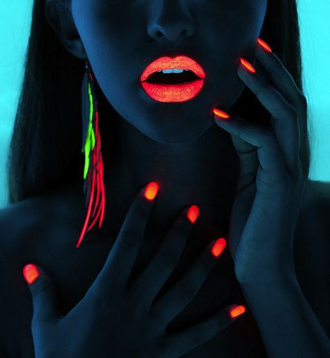 Neon/glow in the dark @Chelsea Miller we might need some of this for the black light party on the cruise!