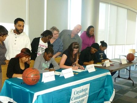 Players Sign Letters-of-Intent to Tri-C Womenu0027s Basketball Team - letters of intent