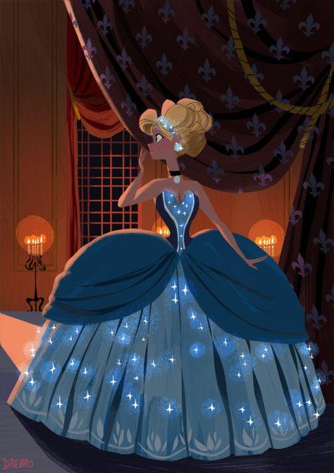 dgeorgecox:  Did my own take on Cinderella.