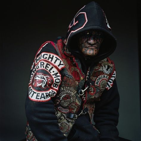 New Zealand photographer Jono Rotman got unprecedented access to around 200 members of the Mongrel Mob. We asked how he did it.