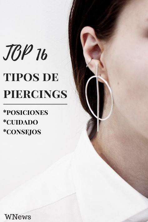 Top 16 Diferentes Tipos De Piercings En La Oreja Posiciones