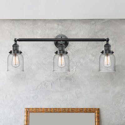 Oil Rubbed Bronze 3 Globe Vanity Light Interior Bath Wall Lighting Fixture