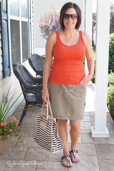 Alternatives to Shorts #FashionOver40