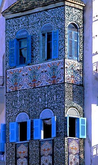 Tunisie Cote Mer Nabeul Maison Decoree De Ceramiques Tunisie