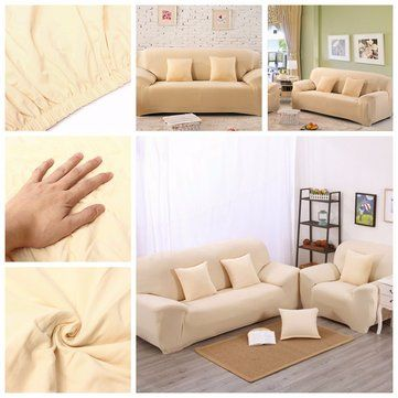 Three Seat Stretch Elastic Sofa Slipcover Pet Dog Sectional Corner Sofa Covers Furniture Protector Newchic Mo Corner Sofa Covers Slipcovered Sofa Sofa Covers