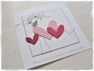 Carolas Bastelstübchen: Wedding card .. ♥ ......  #bastelstubchen #carolas #wedding
