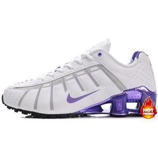 buy online 49044 a9866 ... germany asneakers4u womens nike shox nz 3 oleven white black purple  womens nike shox pinterest nike