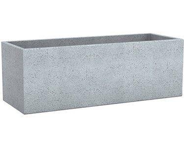 Scheurich Pflanzgefass C Cube Long 80 Cm Stony Grey Pflanzgefasse