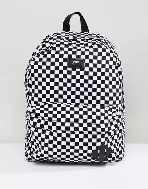 Vans Old Skool Ii Backpack In Checkerboard  eedec8fa74a