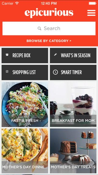 17 best chef app visual competitive analysis images on pinterest epicurious recipes shopping list by cond nast digital forumfinder Choice Image