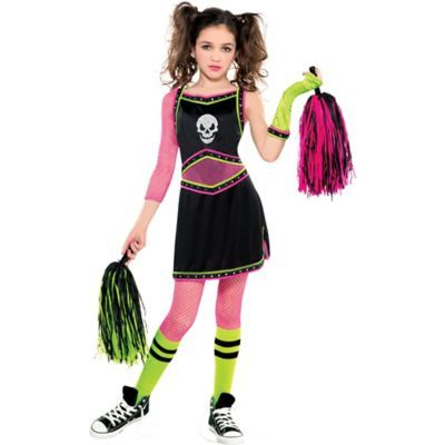 1456cc8adee Girls Mean Spirit Cheerleader Costume | Halloween | Pinterest ...