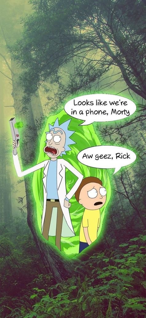 Rick and Morty wallpaper for Smartphones