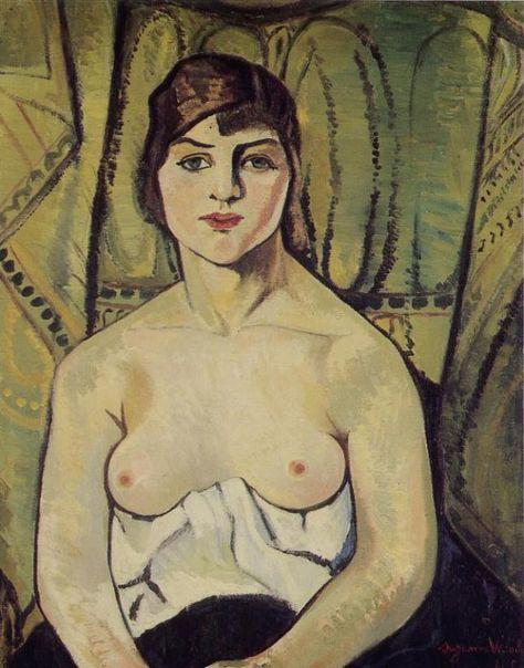 valadon-suzanne-donna con seno nudo