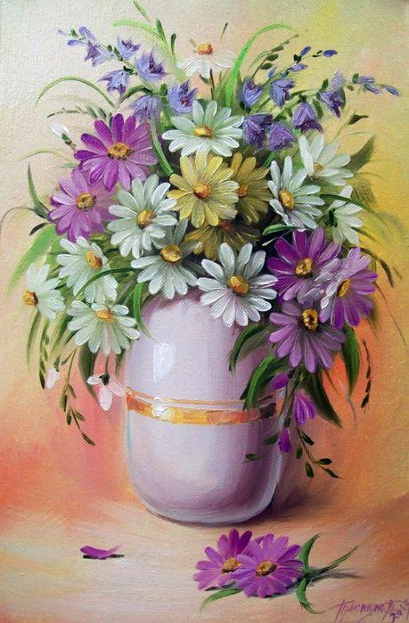 Цветы в живописи.. Обсуждение на LiveInternet - Российский Сервис…