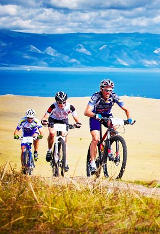 Cycling in Lake Baikal region. Clic on pic, to find out more.