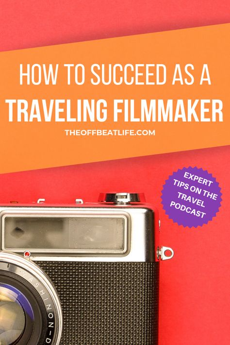 How to succeed as a traveling creative.