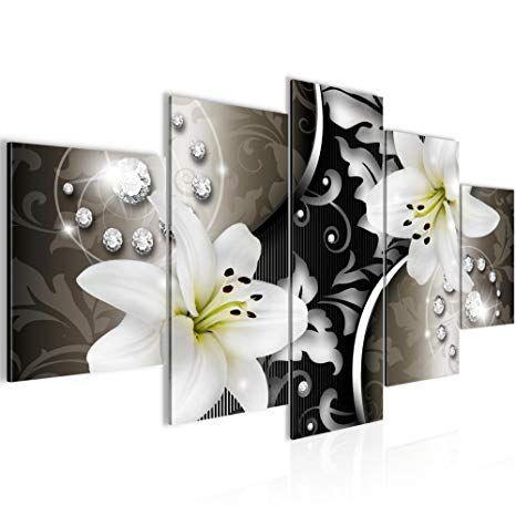 Affiliate Runa Art Bilder Blumen Lilien Wandbild 200 X 100 Cm