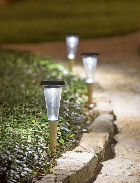 Lotus Solar Path Light Solar Path Lights Path Lighting Ideas Solar Lights Garden