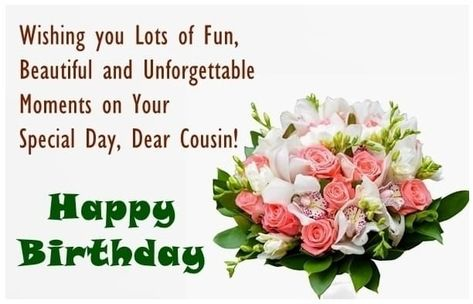 Awesome Bday Wish Images For Cousin Sister Birthday Wishes Cousin