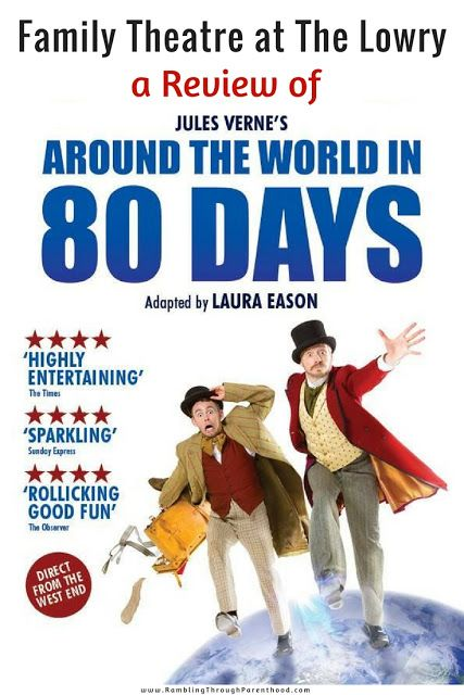 Around The World In 80 Days At The Lowry Manchester A Review