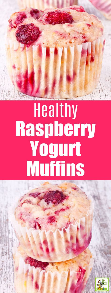Raspberry Yogurt Muffins Start the day with these Healthy Raspberry Yogurt Muff. Raspberry Yogurt Muffins Start the day with these Healthy Raspberry Yogurt Muffins. These easy to Healthy Sweets, Healthy Baking, Healthy Recipes, Healthy Yogurt, Protein Recipes, Easy Healthy Deserts, Healthy Cupcakes, Smoothie Recipes, Crockpot Recipes