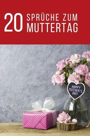 Alles Gute Zum Muttertag Sprüche Für Karten Muttertag