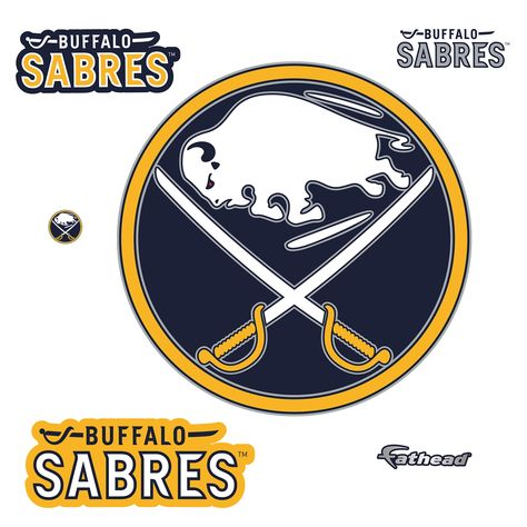 Buffalo Sabres: Logo - Giant Officially Licensed NHL Removable Wall Decal