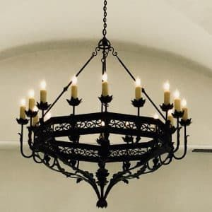 Classic Wrought Iron Custom Chandelier You Know You Want One
