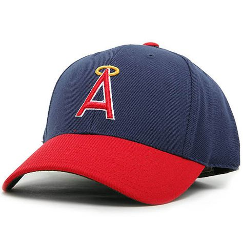 ba7443b5284 California Angels 1972-92 Cooperstown Fitted Cap - MLB.com Shop ...