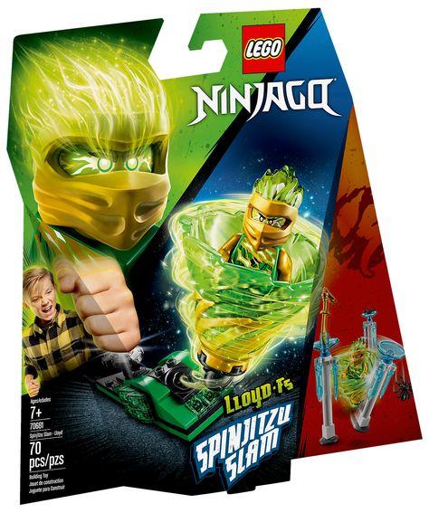 Lego Ninjago 70681 Spinjitzu Slam Lloyd Lego Ninjago