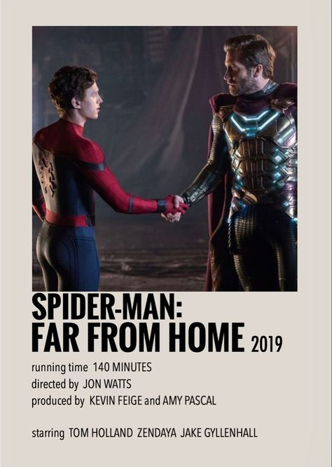 Spider-Man far from home by Millie