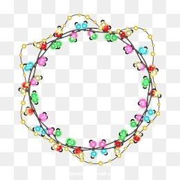 Christmas Lights Png.Christmas Lights Christmas Light Ring Light Bulb Png And