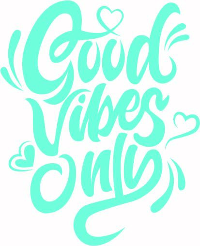Download Good Vibes Only Svg Cut File SVG